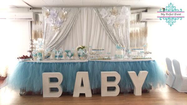 tulle table skirt wedding decor hire Ballarat
