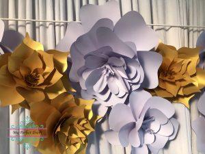 Paper Flower Party Hire Ballarat