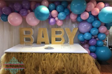 Baby Shower Unicorn Theme Party Hire Ballarat