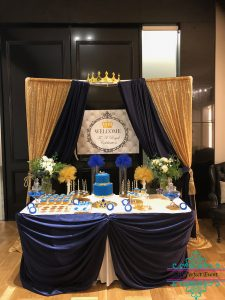 Crown Prince Baby Shower Theme
