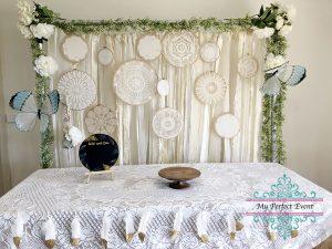 Boho wedding styling party hire Ballarat