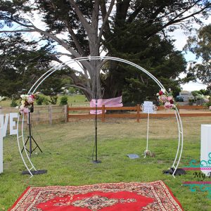 wedding arch hire ballarat
