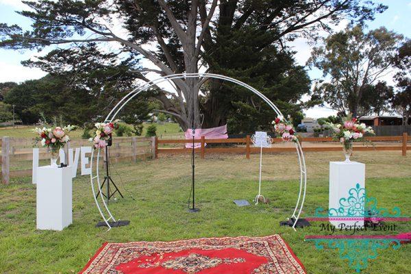 wedding arch hire ballarat
