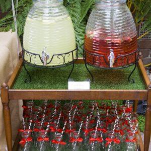Drink dispenser party decor hire Ballarat