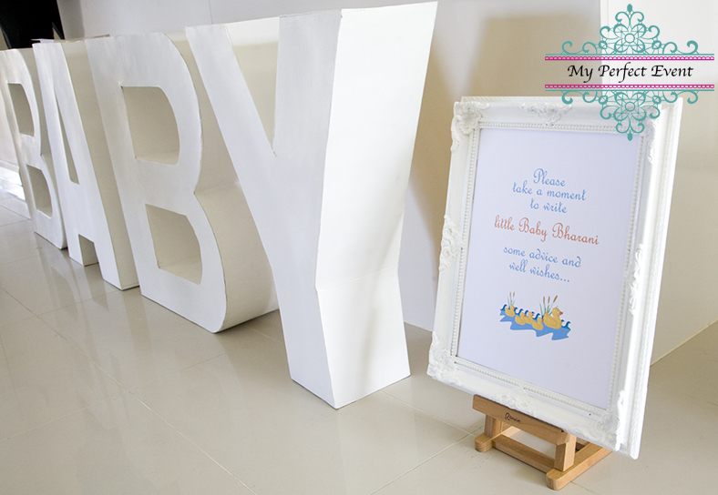Baby Letters Baby Shower Ballarat Party Hire