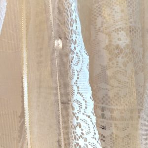 Vintage Lace backdrop wedding hire Ballarat