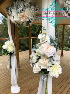 wedding ceremony hire & styling Ballarat