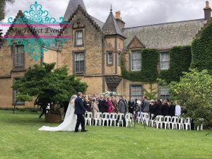 wedding ceremony hire & styling Ballarat